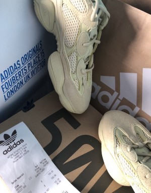 YEEZY 500 SUPER MOON YELLOW SIZE UK7