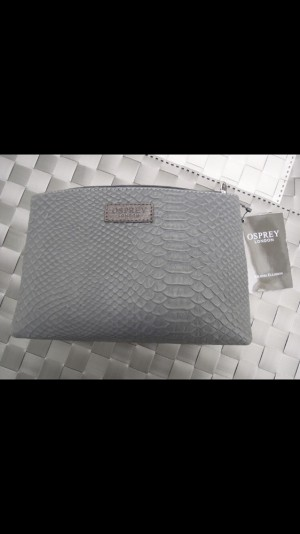 New Brown Osprey London Pouch