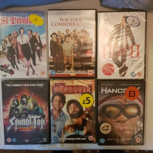 6X Comedy DVDs