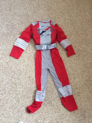 Power ranger dress up 7/8