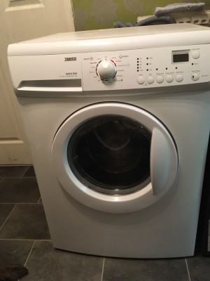 Zanussi washer. 1400 spin 7kg drum great condition