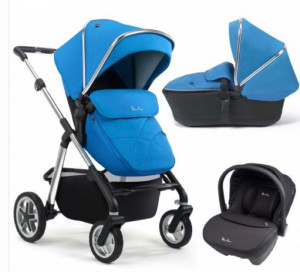 silver cross 3in1 pram