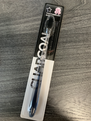 soft charcoal toothbrush from superdrug