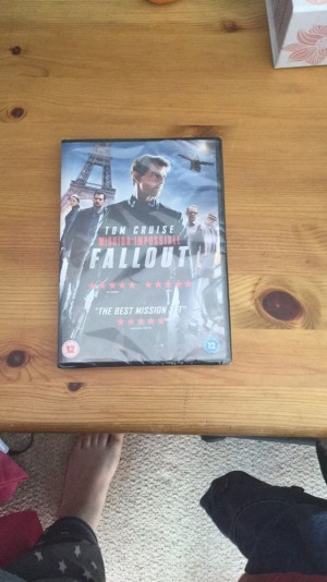 Mission impossible fallout not opened perfect condition