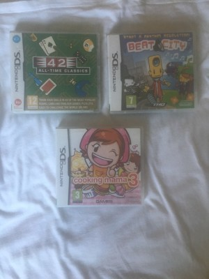 Ds games works brilliantly,hair curlers cap is missing but doesn't effect them,they still work brilliantly. collection only,located paulton