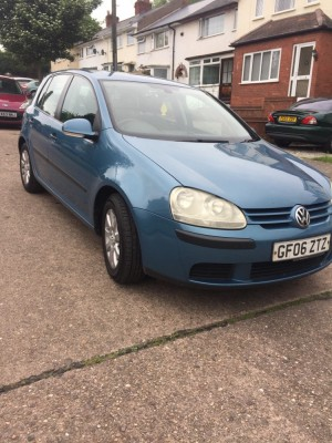 Golf FSI 1.6 2006 very good car not any problem mileage 144  mot full logbook Bluetooth service history 4new tyres more info plz call or text 07454146295