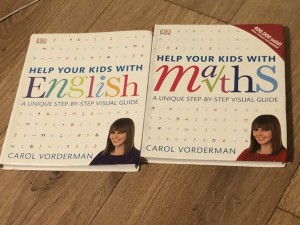 Carol Vorderman Help Your Kids with English and Maths revision books