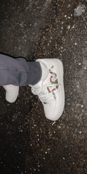 Customised Gucci Airforce 1