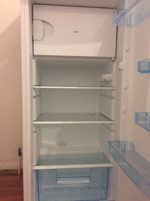Fridge with ice compartment  £80 (only used for a month)