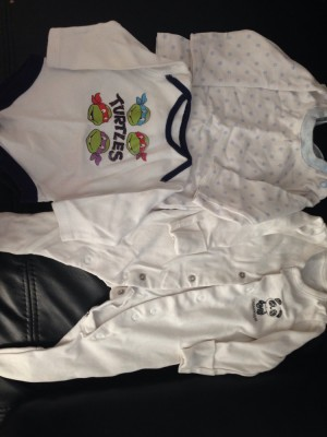 Baby boy clothing newborn/ 0-3 months