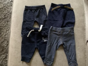 Boys Trousers 0-3 Months
