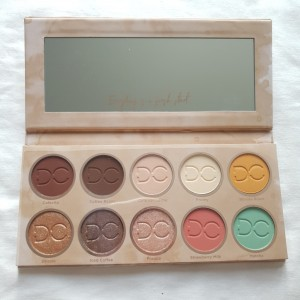 New Dominique Cosmetics Eye Shadow Palette in Latte 2 RRP£40