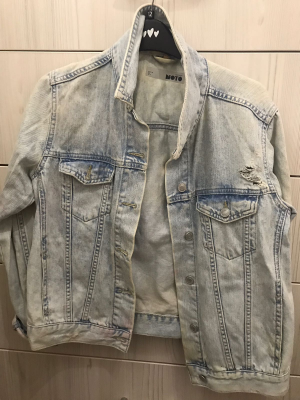 Light blue denim Jacket from Topshop
