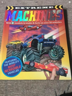 Extreme Machines by Bonnier Books Ltd (Paperback, 2008)