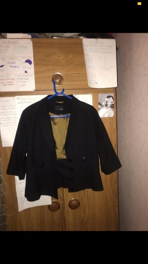 Black Next Blazer. Will fit from an 8-12