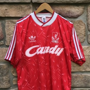 Vintage Liverpool jersey