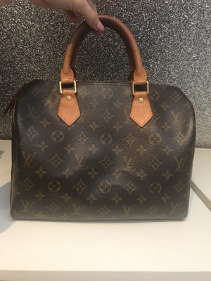 Vintage Louis Vuitton Speedy 35 - including working lock and key (no.304)