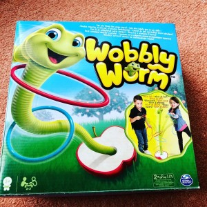 Spin Master Games Wobbly Worm 6036368 Fun Family Kids Game  Ask me for