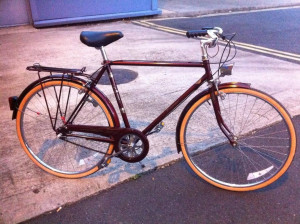 Vintage Raleigh courier 3speed