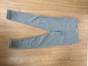 Miss Selfridge Checked pants/leggings