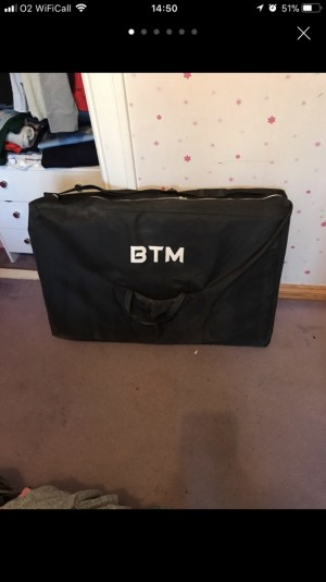 Never been used massage table