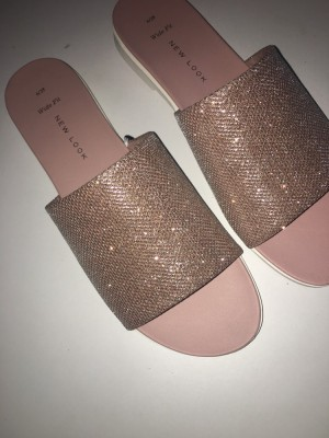 New look bling sandals