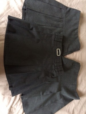 Marks and Spencer's grey school skirts age 6-7yrs