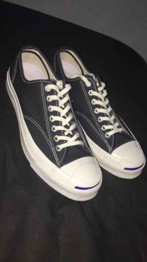 Black Converse - Jack Purcell