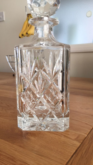 Lovely Crystal Decanter
