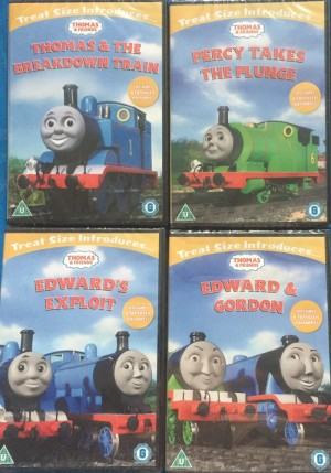x4 Thomas and friends DVD's brand new and factory sealed