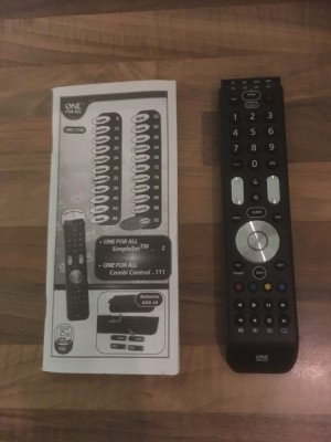 All for one remote control