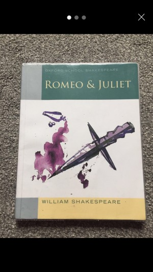 Romeo and Juliet play book