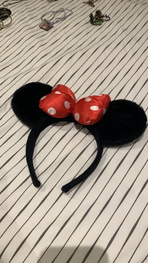 Mini Mouse ears headband