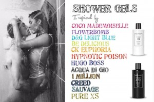 FM INSPIRED FRAGRANCE SHOWER GELS