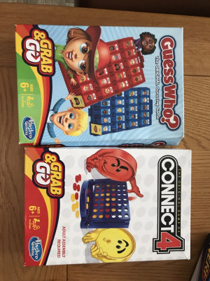 Connect 4 & Guess who brand new
