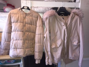 Primark light pink 2 piece coat