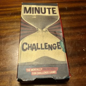 Paladone Minute Challenge Game 50 Mental And Physical With Cards Timer