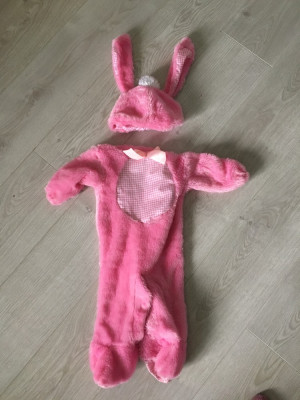 Baby girl bunny costume 6-12 months