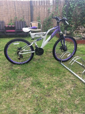 GIRLS DUNLOP MOUNTAIN BIKE