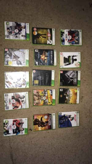Xbox 360 games bundle (paypal accepted can deliver)