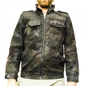 Cedarwood State Men's Camouflage Jacket
