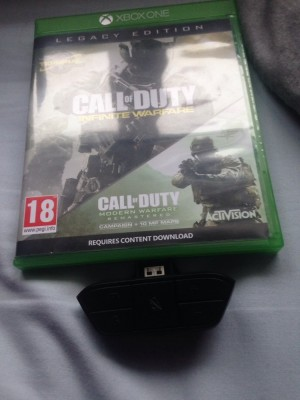 Call of duty legacy edition with official chat adapter