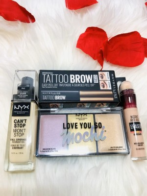 Makeup Bundle Nyx pale