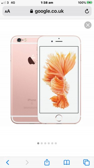 iPhone 6s rose gold, READ DESCRIPTION THIS PHONE IS NOT FOR FREE AND I