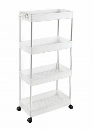 Brand New Storage Trolley 4-Tier Slide Out