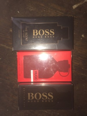 Three Hugo boss brand new