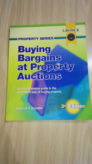 Buying Bargains at Property Auctions, Gooddie, Howard, Used; Good Book
