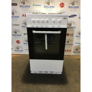 Beko BCSPW50W Electric Cooker with Single Oven- White £129
