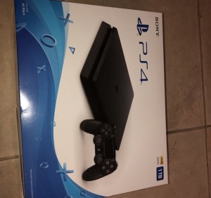 PS4, boyfriend got two for his birthday only needs the one.. selling c
