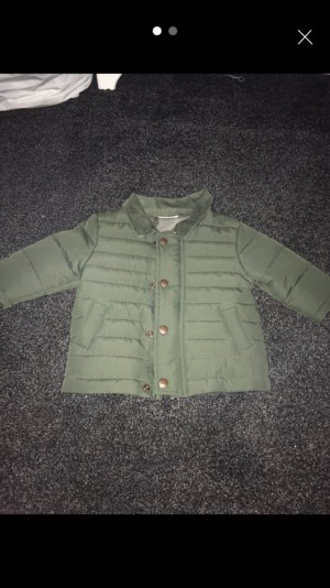 3-6 month baby boy Next quilted jacket
